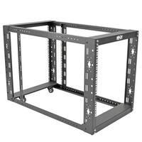 """Tripp Lite 12U 4-Post Open Frame Rack Server Cabinet Floor Standing 36"""" Depth"""