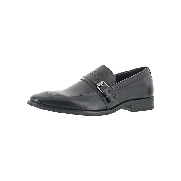 Calvin Klein Mens Reyes Loafers Leather Almond Toe