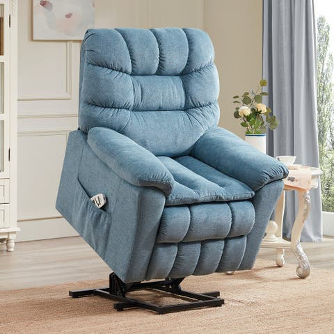 Merax Adjustable Power Lift Chair with Massage and Heating System