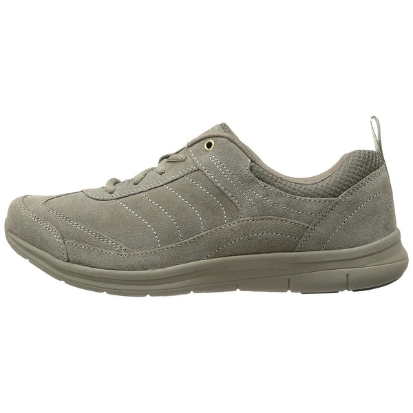Easy Spirit Womens southcoast Suede Low Top Lace Up Fashion Sneakers
