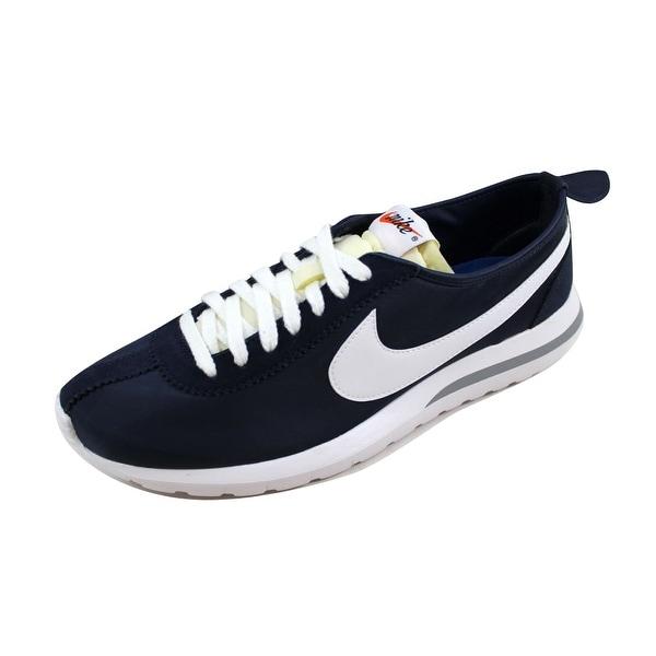 66822f7477219 Shop Nike Men s Roshe Cortez NM QS Midnight Navy White 823298-411 ...