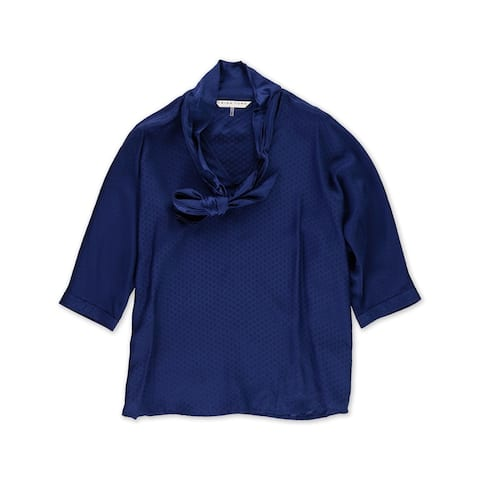 Trina Turk Womens Silk Pullover Blouse