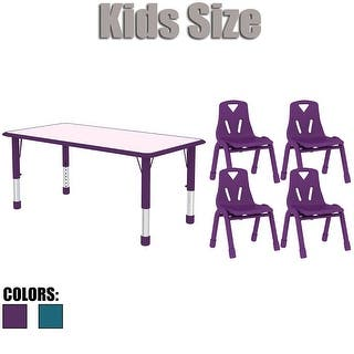 2xhome Kids Table and Chairs Set Adjustable Leg Wavy Activity Table School Table Childrens Bright Color Table Preschool|https://ak1.ostkcdn.com/images/products/is/images/direct/08c6bd011d31d57585677678644682715ccce387/2xhome-Kids-Table-and-Chairs-Set-Adjustable-Leg-Wavy-Activity-Table-School-Table-Childrens-Bright-Color-Table-Preschool.jpg?impolicy=medium