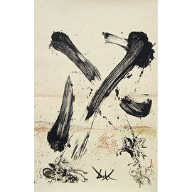 Attack of Mills, 1957 Limited Edition, Lithograph, Salvador Dali