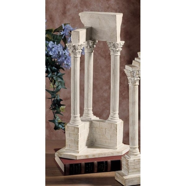 Design Toscano Temple of Vespasian Column: Corner