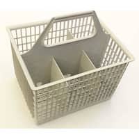 NEW OEM GE General Electric Silverware Utensil Diswasher Basket Bin For GSD1100G00WW, GSD1100G02, GSD1100G02WW