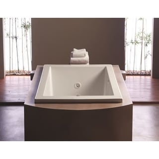 "Mirabelle MIREDS6032 Edenton 60"" X 32"" Drop-In Soaking Tub with Reversible Drain"