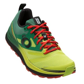 Pearl Izumi 2016/17 Men's EM Trail N2 v3 Running Shoe - 16116013-5GU - amazon/lime punch