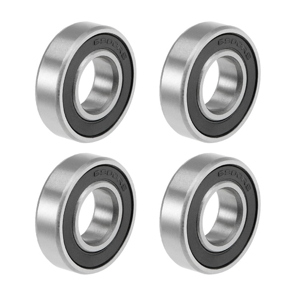 6900-2RS Deep Groove Ball Bearings Z2 10x22x6mm Double Sealed Carbon Steel 4pcs