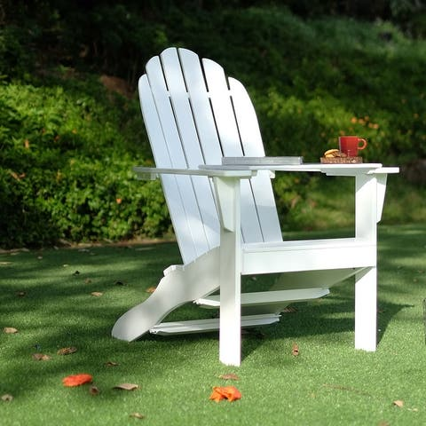 Cambridge Casual Alston Adirondack Chair with Tray Table