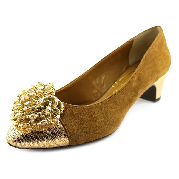 J. Renee Rashana Women Cuoio/Rose Gold Pumps