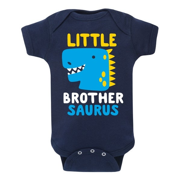Shop Little Brother Saurus Infant One Piece On Sale
