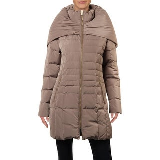 Link to Cole Haan Womens Puffer Coat Down Winter - Cashew - S Similar Items in Women's Outerwear