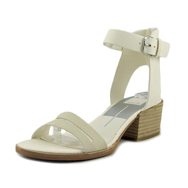 Dolce Vita Rae Women Open-Toe Leather Slingback Sandal