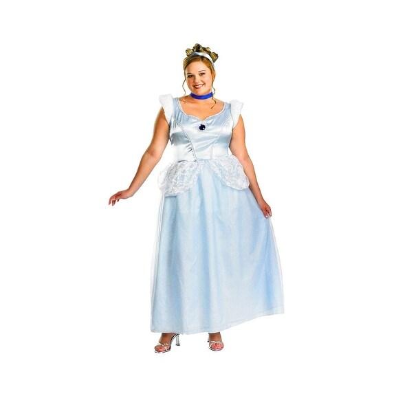 Cinderella Deluxe Costume Plus Size XXL 22-24