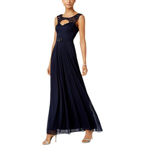 a1ebd1c868 Betsy   Adam Womens Formal Dress Cut-Out Sleeveless