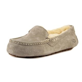 Ugg Australia Ansley Women Round Toe Suede Gray Loafer