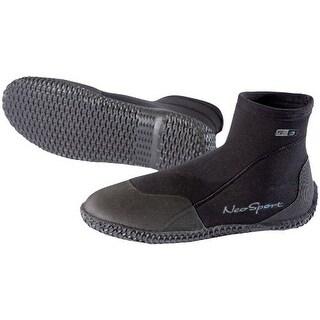 NeoSport Neoprene 3mm Low Top Dive Boots - Black