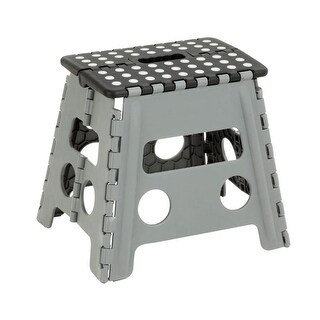 Honey-Can-Do TBL-02977 Single Step Stepping Stool with non-Slip Surface