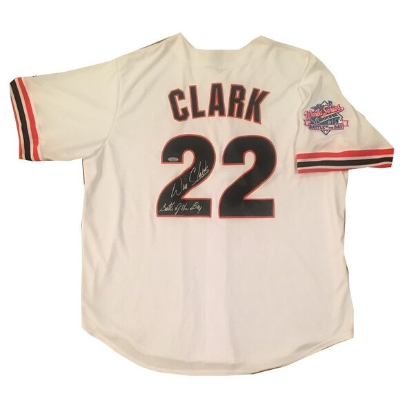 338eb6e3d Shop Will Clark Autographed San Francisco Giants 1989 World Series Battle  of the Bay Signed Baseball Jer - Free Shipping Today - Overstock - 16181096