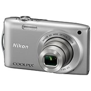 Nikon Coolpix S3200SL 16.0 Megapixels Digital Camera - 6x Wide (Refurbished)