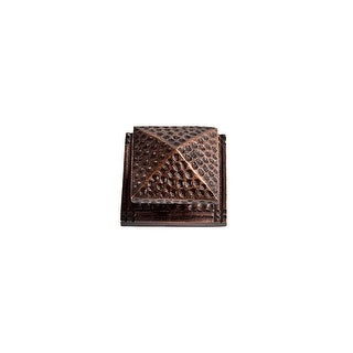 """Link to The Copper Factory CF111 1 7/8 x 1 7/8"""" Solid Cast Copper Large Square Similar Items in Hardware"""