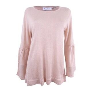 Calvin Kleins Women's Bell-Sleeve Sweater
