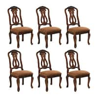 """""""North Shore Dining UPH Side Chair 2/CN Dark Brown (6-Pack) North Shore Dining UPH Side Chair 2/CN Dark Brown"""""""