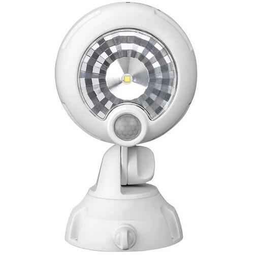 Mr. Beams MB360XT-WHT-01- Wireless Motion Sensor LED Spotlight, White