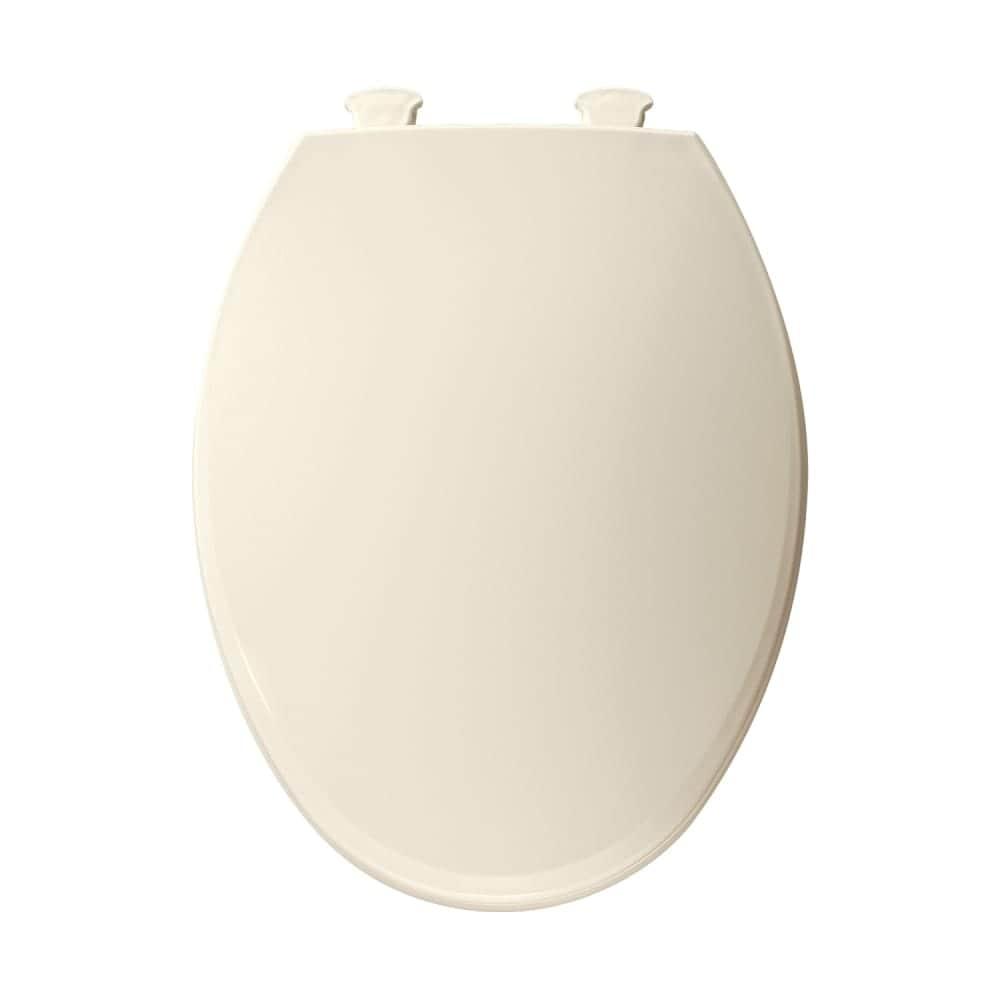 Surprising Bemis 1800Ec Elongated Plastic Toilet Seat With Easy Clean Change Hinge N A Dailytribune Chair Design For Home Dailytribuneorg