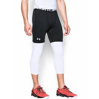 Under Armour NEW Black Men Small S Under-Armour Pants Athletic Apparel