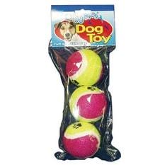 Diggers 08225 Tennis Balls Pet Toy, Pack-3