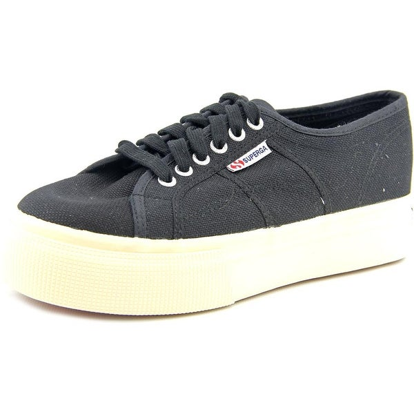 Superga 2790 Cotw Linea Up And Down Women Black Sneakers Shoes