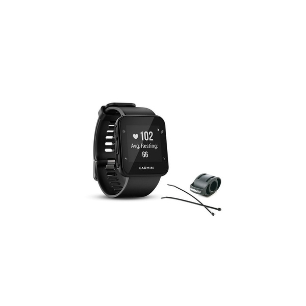 a07594f562d3d6 Garmin Forerunner 35 Black GPS Running Watch with Wrist-based Heart Rate