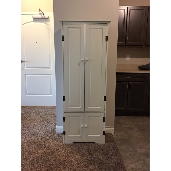 Ordinaire Shop Simple Living Extra Tall Cabinet   On Sale   Free Shipping Today    Overstock   3912177