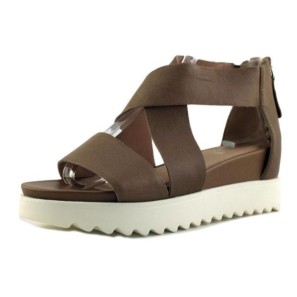 6438d9889ef Shop Steven Steve Madden Kaley Women Open Toe Leather Gray Platform ...