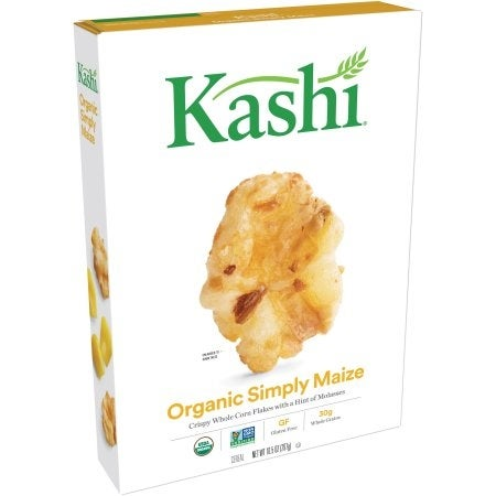 Kashi Simply Maize Organic Corn Cereal - Case of 10 - 10.5 oz.