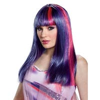 Adult My Little Pony Movie Twilight Sparkle Wig - standard - one size