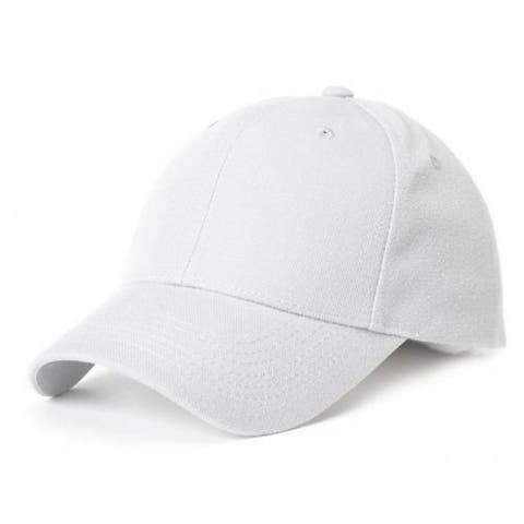 New White Kids Blank Hat Cap