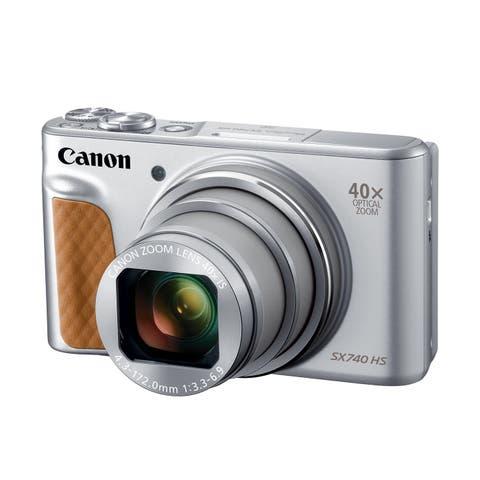 Canon PowerShot SX740 HS Digital Camera (Silver)