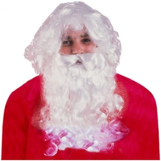 Santa Wig & Beard Set Adult Costume Accessory