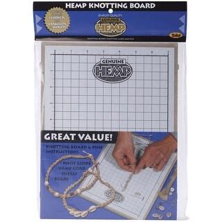 """Hemp Knotting Board-11""""X8.625""""X.5"""""""