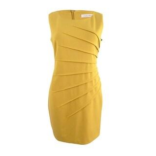 Calvin Klein Women's Starburst Sheath Dress (4, Orchid) - ORCHID - 4