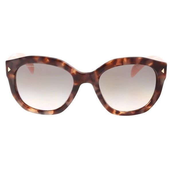 5b015502b3b Shop Prada PR12ss UE04k0 Pink Cat Eye Sunglasses - 53-20-140 - Free ...