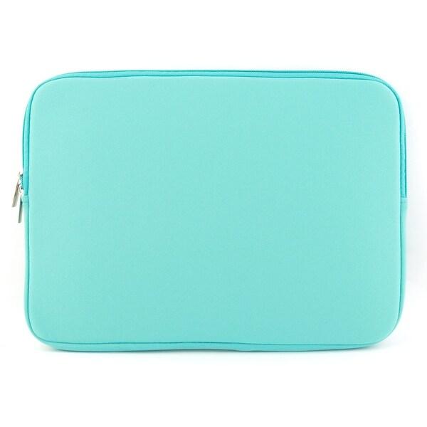 Unique Bargains Shockproof Notebook Laptop Sleeve Bag for Macbook Turquoise