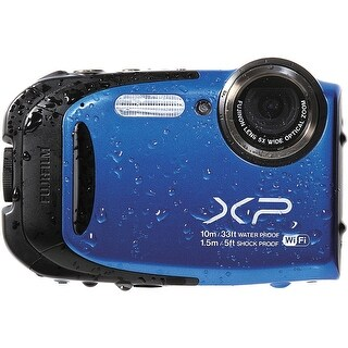 Fujifilm FinePix XP70 Digital Camera (Blue) (International Model)