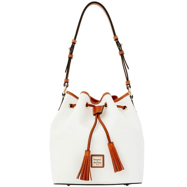 Dooney & Bourke Pebble Grain Kendall (Introduced by Dooney & Bourke at $268 in Jul 2015) - White