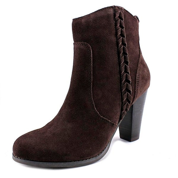 Very Volatile Wright Women Round Toe Suede Ankle Boot