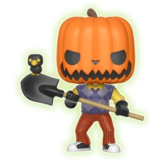 "FunKo POP! Games Hello Neighbor Pumpkinhead 3.75"" Vinyl Figure - multi"