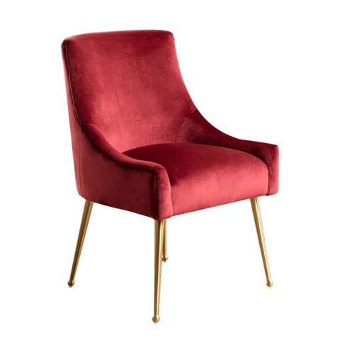 Abbyson Bevie Velvet Dining Chair